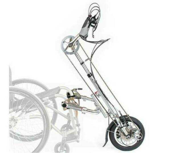 Rio Mobility Dragonfly Attachable Manual Handcycle for