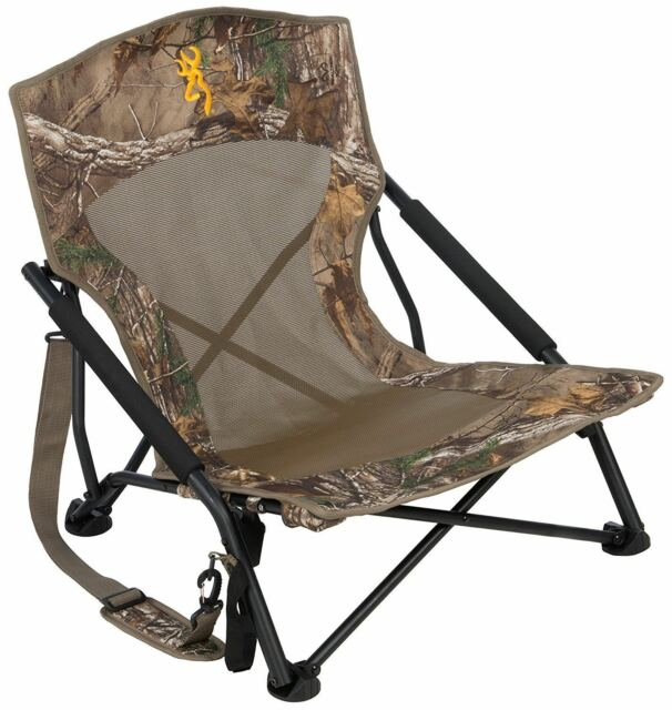 Camo Hunting Chair Blind Folding Seat Camping Outdoor
