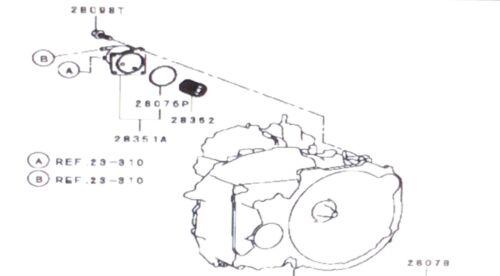 Genuine OEM Mitsubishi CVT Transmission Oil Cooler Filter