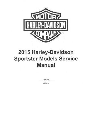 2015 Harley Davidson Sportster Models OEM Factory Service