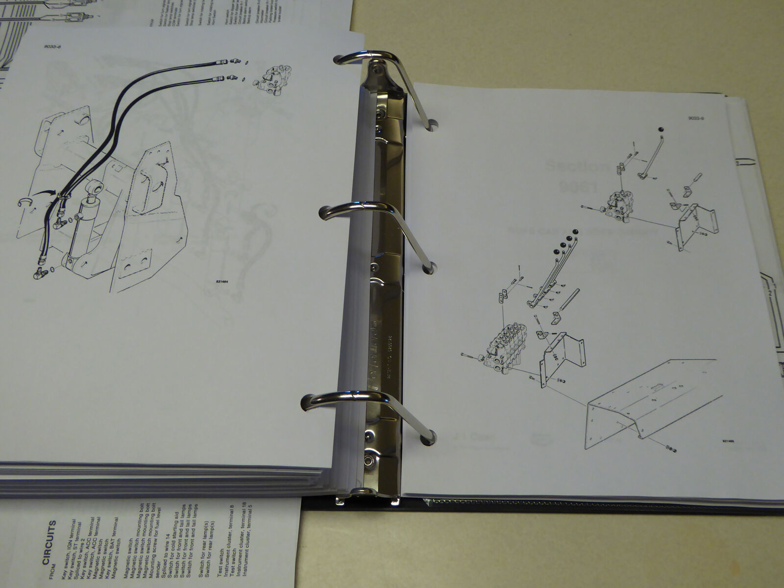 Case 580 Backhoe Ignition Wiring Diagram Case Free Engine Image For