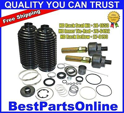 complete power steering rack and pinion rebuild kit for freightliner cascadia ebay