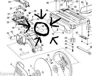 080029002033 Ridgid Power Cord, R4141 14