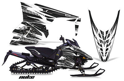 Snowmobile Graphics Kit Decal Sticker Wrap For Yamaha