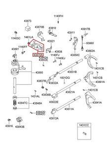 NEW Hyundai OEM Manual Transmission Sub Assy Shaft