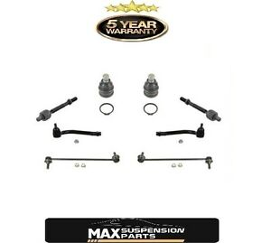 Front Ball Joint Tie Rods Sway Bar Links Fits Hyundai