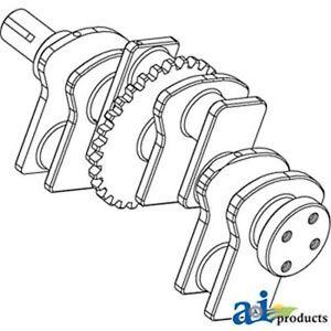 3144626R92 Crankshaft Fits Case-IH: DT239,D239,D246,2500A