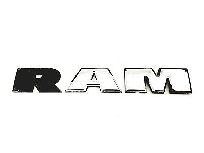 2009-2018 DODGE RAM 1500 2500 3500 SIDE DOOR EMBLEM BADGE
