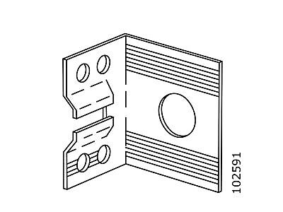 IKEA SUSPENSION FITTING FOR PAX WARDROBE PART # 102591