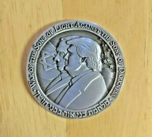 2020 Donald Trump Coin & Netanyahu Half Shekel Israel Commemorative Coin   eBay