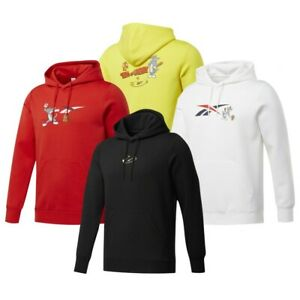 Reebok Classics x Tom & Jerry Men's Graphic Pullover Hoodie Collection   eBay