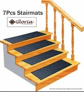 Set Of 7 Gloria Rug Carpet Stair Treads Non Slip Skid Resistant   Gloria Rug Stair Treads   Rubber Backing   8.5 X26   Decor Rugs   Overstock   Area Rug