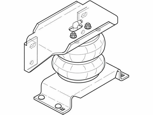 Rear Air Lift Leveling Kit Y571VD for F350 Super Duty F450