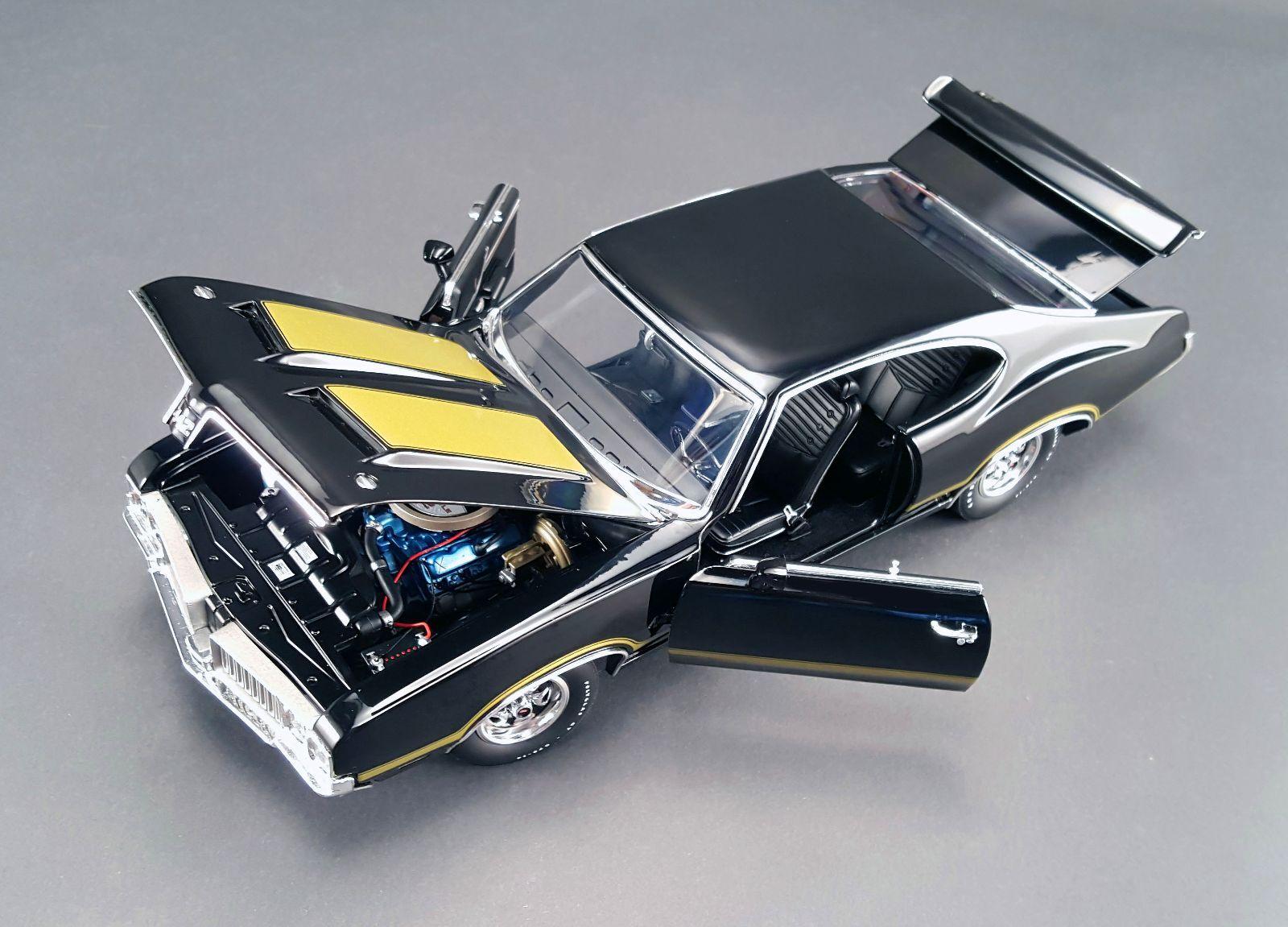 1970 Oldsmobile 442 Black Gold 350 Made 118 Acme Vintage