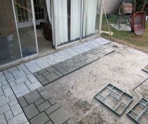 Diy Driveway Paving Pavement Mold Concrete Stepping Stone