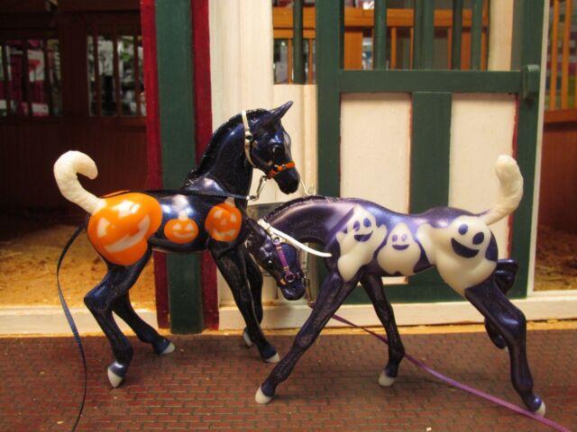 Jaapi Halloween Halters CM made to fit Breyer Jack & Casper; Classic foal models | eBay