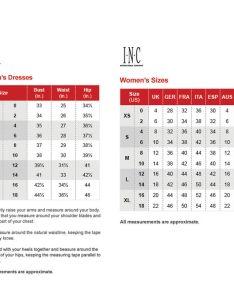 Inc size chart also meli  eye rh