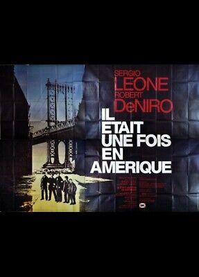 Il était Une Fois L'amérique Film : était, l'amérique, Affiche, ETAIT, AMERIQUE, 400x300