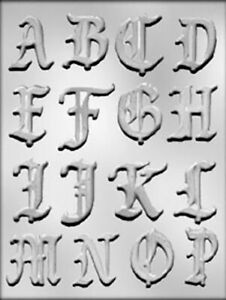 Fancy Letters And Numbers : fancy, letters, numbers, Alphabet, Fancy, Letters, Chocolate, Mould