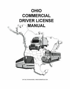 COMMERCIAL DRIVER'S MANUAL FOR CDL TRAINING (OHIO) ON CD