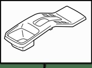 75830-80J00-P4Z Suzuki Garnish,fl csl rr 7583080J00P4Z