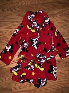Disney Mickey Mouse Toddler Size 2T Bath Robe   eBay