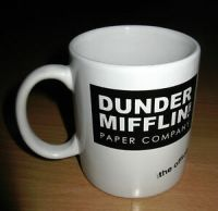 Dunder Mifflin Paper Company The Office Ceramic Coffee Mug