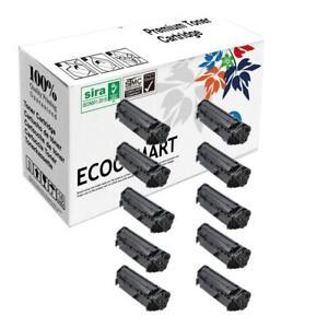 10PK Compatible Q2612X 12X HY Black Toner for HP Q2612A