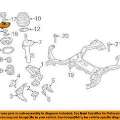 Mini Cooper Suspension Diagram Simple Wiring For Chopper Oem 2002 Front Strut Mount Bearing Image Is Loading