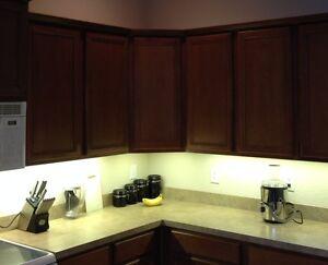 led tape kitchen hood vents under cabinet professional lighting kit warm white strip details about light