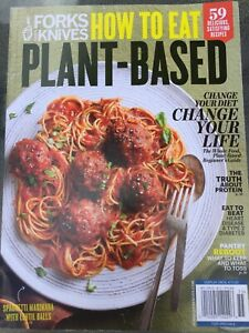 FORKS OVER KNIVES HOW TO EAT PLANT BASED GUIDE MAGAZINE 2020 RECIPES CHEF FOOD | eBay