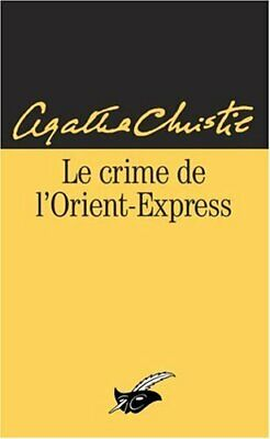 Agatha Christie Le Crime De L Orient Express : agatha, christie, crime, orient, express, Crime, L'Orient-Express, Christie,, Agatha, Shipping, 9782702423592