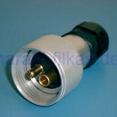 30ampere Ladestecker Scion Xb Stereo Wiring Diagram 2 Poliger Stecker Nach Din 14690 6 Bis 42 Volt 30 Ampere Wie Das Bild Wird Geladen