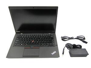 Lenovo ThinkPad X1 Carbon i7 3667U 2.0GH 8GB 180GB SSD 1600x900 BK Lit KB Win 10