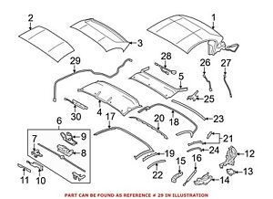 For BMW Genuine Convertible Top Wiring Harness 54377192499