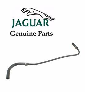 For OES Genuine Coolant Reservoir Hose Jaguar XK8 XKR 2002