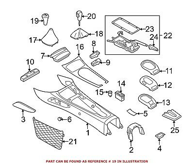 For BMW Genuine Manual Transmission Shift Boot 25117526993