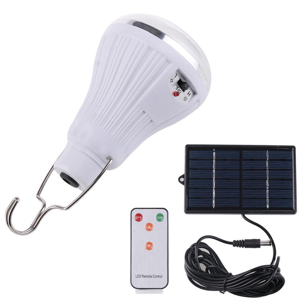 Solar Power 20 LED Hanging Light Outdoor Garden Camping