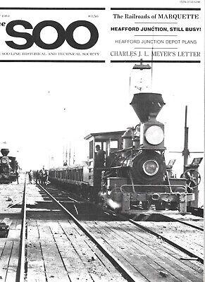 Soo Line July 1984 Marquette Railroads Heafford Junction