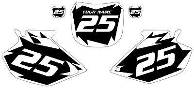 2003-2005 Yamaha YZF450 Custom Pre-Printed Black