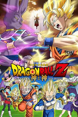 Dragon Ball Z : Battle Of Gods : dragon, battle, Posters, Dragon, Battle, Movie, Poster, Glossy, Finish, MCP998