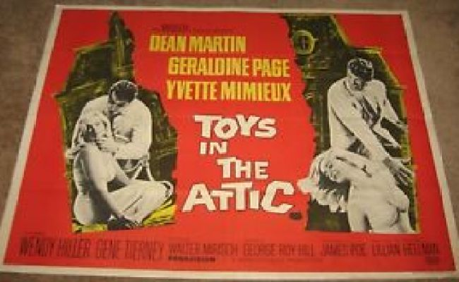 Toys In The Attic Original Uk Movie Poster 1 Sheet 30 X 40