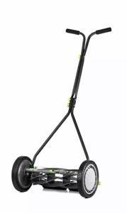 Earthwise 16-in Reel Lawn Mower Manual Self Push Lawnmower