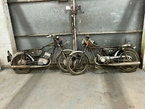 2x Yamaha RD200 barn find project spares or repair parts donor