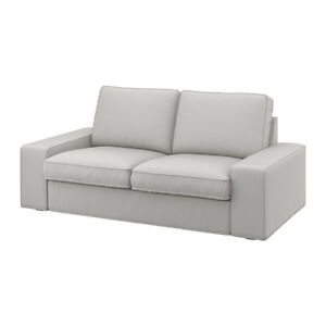 light grey sofa covers cb2 avec reviews ikea kivik two seat cover ramna removable washable image is loading