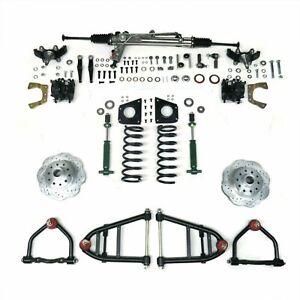 59-74 Ford Galaxie Mustang II IFS Kit Power Rack Shock