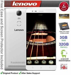 "Lenovo K5 Note 5.5"" Smartphone Android 6 Octa Core Dual SIM 3GB RAM 32GB NEW"