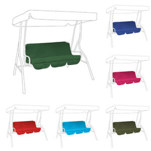 details about replacement cushions swing seat hammock garden pads water resistant 2 3 seater
