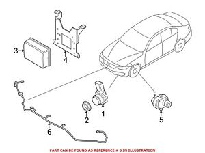 For BMW Genuine Parking Aid System Wiring Harness Front