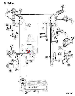 MOPAR GENUINE OEM TRANSFER CASE WIRING HARNESS 56018361